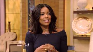 getlinkyoutube.com-Gabrielle Union Live With Kelly and Michael 10 13 2015