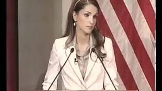 Queen Rania at Harvard