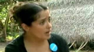 getlinkyoutube.com-SALMA HAYEK Breast Feeds A Hungry African Child | Actress Act Of Love !
