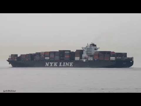 Click to view video NYK VENUS - IMO 9312793 - Germany - Elbe - Otterndorf - 28.09.2014