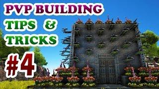 getlinkyoutube.com-ARK | Advanced PVP Building Design Tips&Tricks Ep4 | Auto Turrets + Plant X Defense and Base Raid