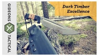 Survival Knife Excellence: Dark Timber Honey Badger