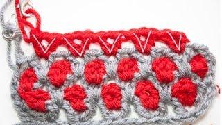 getlinkyoutube.com-How to Crochet: Moroccan Tile Afghan Stitch
