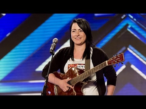 Lucy Spraggan's audition - Last Night - The X Factor UK 2012