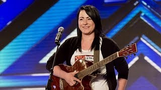 getlinkyoutube.com-Lucy Spraggan's audition - Last Night - The X Factor UK 2012