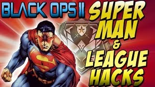"BO2 - ""Superman Jump Hack & League Play S&D Hacked"" (Black Ops 2) Call of Duty"
