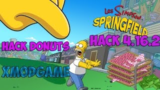 getlinkyoutube.com-Les Simpsons Springfield HACK DONUTS 4.16.2 [XModGame]