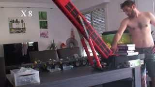 getlinkyoutube.com-LEGO technic LTM 11200 9.1 test de levage  n°2