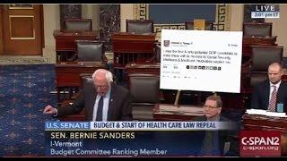 getlinkyoutube.com-Bernie Sanders Trolls President-Elect Trump on Senate Floor FULL Speech 1/4/17