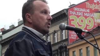 getlinkyoutube.com-Demonstrace Praha 17. 10. 2015 - Jiří Černohorský