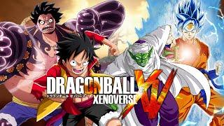 getlinkyoutube.com-Dragon Ball Xenoverse MODS | Luffy VS Piccolo & SSJGSSJ Goku (Duels)