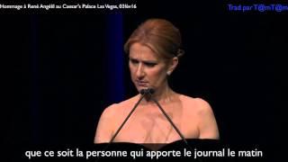 getlinkyoutube.com-Céline Dion rend Hommage à son Mari René Angélil