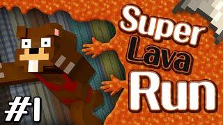 용암이 점점 쫓아온다! 용암점프맵 슈퍼라바런! 1편 Super Lava Run - 마인크래프트 Minecraft [양띵TV삼식]