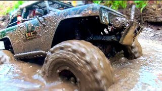 getlinkyoutube.com-RC ADVENTURES - TTC 2012 - Eps 5 - MUD BOG / TRUCK KiLLER - Scale 4x4 Truck Challenge