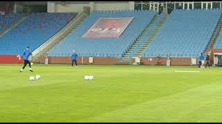 Trabzonspor-Ankaragücü Karşılaşması Son Hazırlık