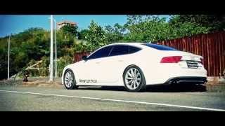 getlinkyoutube.com-Official video of Audi A7 Sportback featuring Armytrix Performance Valvetronic Exhaust