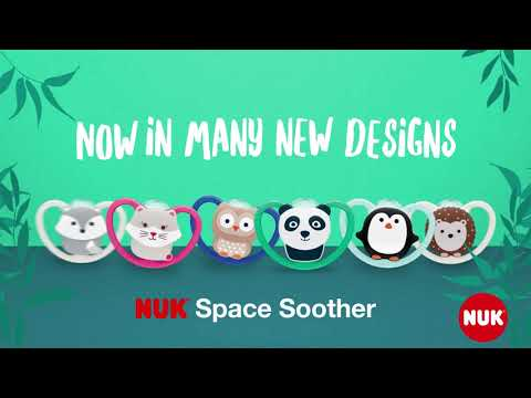 Nuk Space Soother 0-6 Months 2 Pack - Assorted*