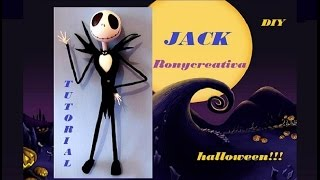getlinkyoutube.com-TUTORIAL JACK SKELETON / JACK SKELLINGTON DIY - Ronycreativa