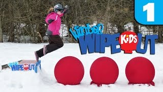 getlinkyoutube.com-Winter Wipeout Kids - Episode 1