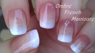 getlinkyoutube.com-Ombre FRENCH MANICURE Design - Pure Sponge Nail Art Tutorial