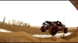 getlinkyoutube.com-Hpi Kraken Baja Bashing Run