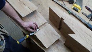 getlinkyoutube.com-Timber Framing Scarf Joint