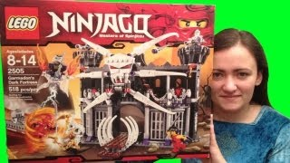 getlinkyoutube.com-LEGO 2505 Garmadon's Dark Fortress LEGO Ninjago Review