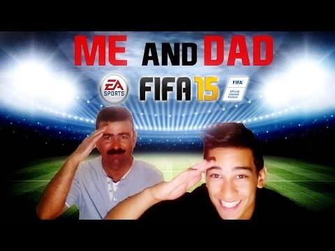 Playing FIFA With My DAD TROLOLOL