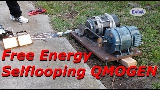getlinkyoutube.com-Free Energy Motor - Generator QMOGEN 1KWATT EVIVA unit from Kiev Ukraine.