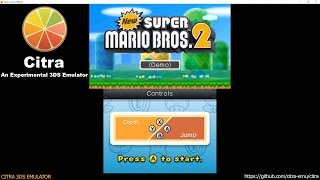 getlinkyoutube.com-Citra 3DS Emulator - New Super Mario Bros. 2 DEMO Ingame Shader JIT