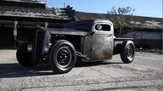 getlinkyoutube.com-1936 Chevy Bare Metal Chopped Pickup Truck
