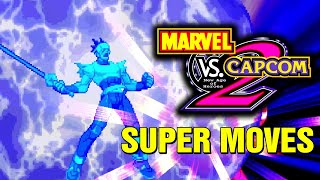 getlinkyoutube.com-Marvel vs Capcom 2 All Hyper Super Combos Moves Arcade Console Xbox360 Dreamcast PS3