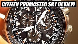 getlinkyoutube.com-Citizen Promaster AS4050-51E Titanium Review
