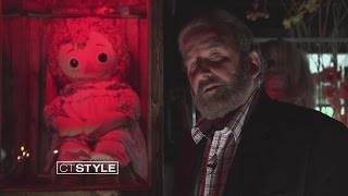 getlinkyoutube.com-Ryan visits the Annabelle Doll at The Warren's Occult Museum