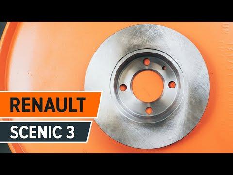 Как да сменим задни спирачни дискове на RENAULT SCENIC 3 ИНСТРУКЦИЯ   AUTODOC