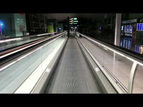 Conveyor belt, Barcelona El Prat Airport