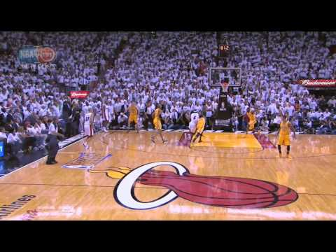 Lebron James Game-Winner Heat-Pacers Game 1