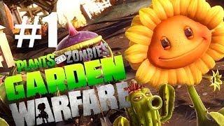 getlinkyoutube.com-САДОВОЕ ПОБОИЩЕ! #1 Plants vs Zombies: Garden Warfare (HD) играем первыми