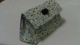 getlinkyoutube.com-Bolsa de mao com Caixa de leite Passo a Passo