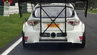 getlinkyoutube.com-Mitsubishi, Subaru & GTR Sprint Series 2016 Final Round - Cadwell Park
