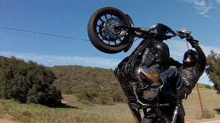 getlinkyoutube.com-Harley Davidson Wheelies and More