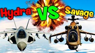 getlinkyoutube.com-QUIEN ES MEJOR? HYDRA VS SAVAGE DUELO EPICO!! GTA V ONLINE Makiman