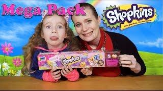 getlinkyoutube.com-Shopkins Season 2 - Megapack 20 Pack Opening