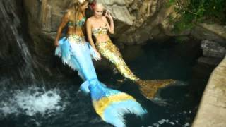 getlinkyoutube.com-Provoke Mermaid Shoot (first swim, make up and hair test) with Dominika & Hannah