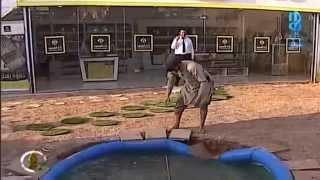 طيحة عبدالكريم الحربي في المسبح | #زد_رصيدك14