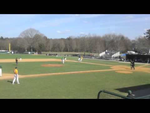Babson Baseball vs. Emerson (4/19/14)