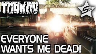 getlinkyoutube.com-EVERYONE WANTS ME DEAD, Body Count Rising... - Escape From Tarkov Gameplay - Customs Raid w/ Royal