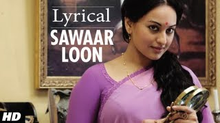 getlinkyoutube.com-Sawaar Loon Lootera Song With Lyrics | Ranveer Singh, Sonakshi Sinha
