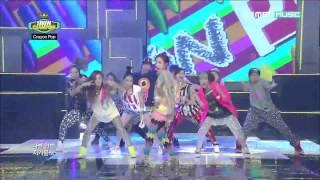 [1080p HD] 120717 Show! Champion -  Crayon Pop - Saturday Night
