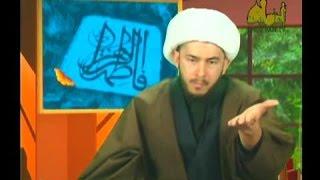 نام امیرالمؤمنین علیه السلام را با سبکی می برید اما به کافر منحرفی چون خمینی«حضرت امام» می گوئید